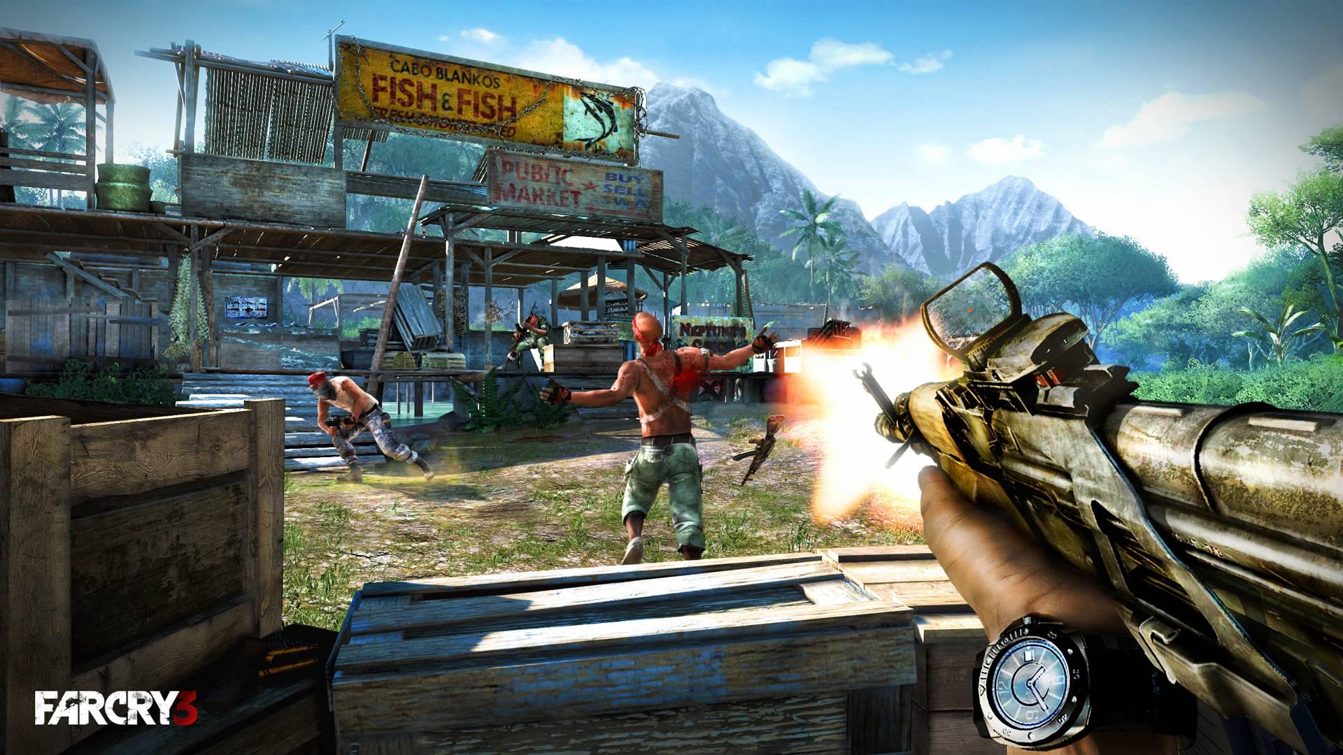 Far cry 3 скачать торрент механики.